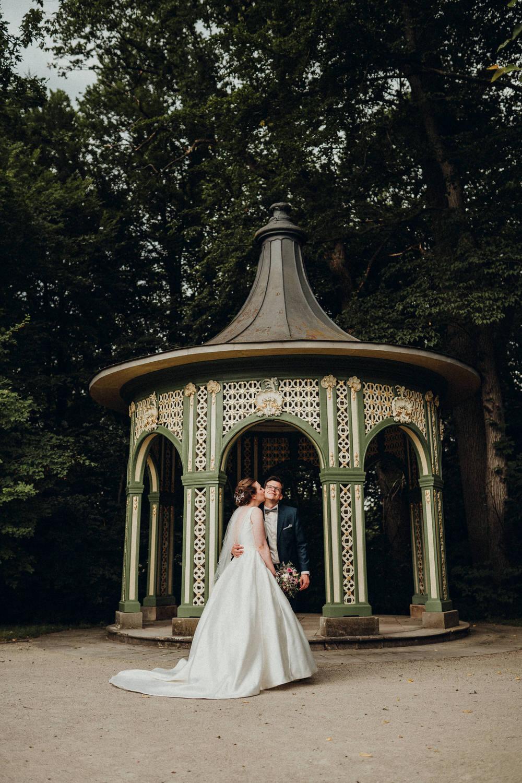 Hochzeitsfotograf in Bayreuth Eremitage