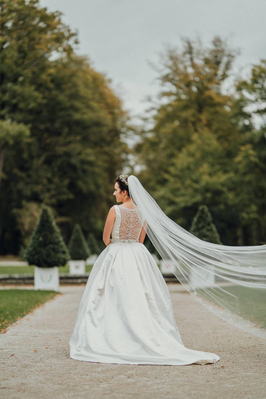 Brautpaar Fotoshooting im Hofgarten Bayreuth